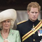 Prince Harry with Camilla Parker Photo C GETTY IMAGES