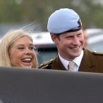 Prince Harry with Chelsy Davy they had an on off relationship between 2006 and 2011 Photo C GETTY IMAGE