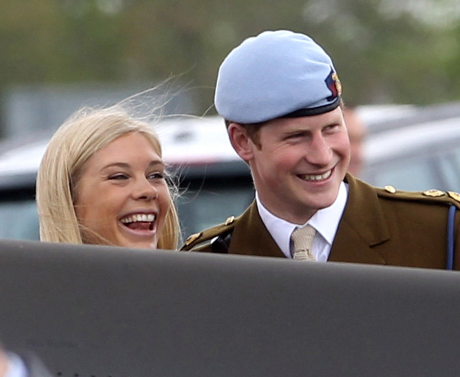 Prince Harry with Chelsy Davy they had an on-off relationship between 2006 and 2011 Photo (C) GETTY IMAGE