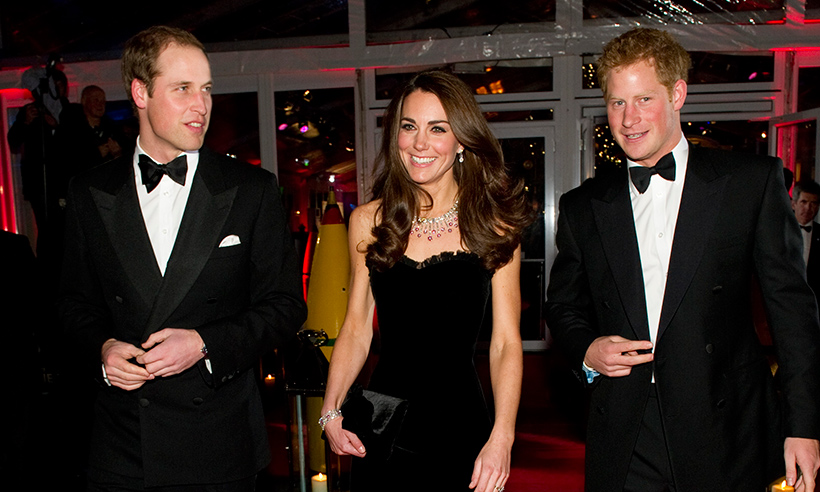 Prince William, Kate and Prince Harry to attend lavish state banquet with Spanish royals Photo (C) GETTY IMAGES