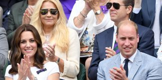 Prince William and Kate attend the Wimbledon men's final Photo C GETTY IMAGES