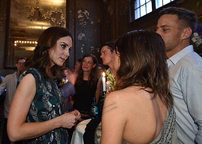 Prince William and Kate met Game of Thrones star Tom Wlaschiha Photo (C) GETTY