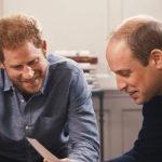 Prince William and Prince Harry look at Princess Diana photos on ITV documentary Photo C ITV