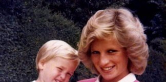 Prince William and Princess Diana in a photo from the princes' personal collection Photo C THE DUKE OF CAMBRIDGE AND PRINCE HARRY PA