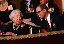 Prince William and Queen Elizabeth II Photo (C) GETTY IMAGES
