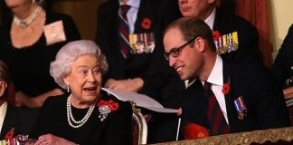 Prince William and Queen Elizabeth II Photo C GETTY IMAGES