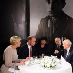 Prince William and the Polish First Lady sat down with World War II veterans to learn about their wartime experiences