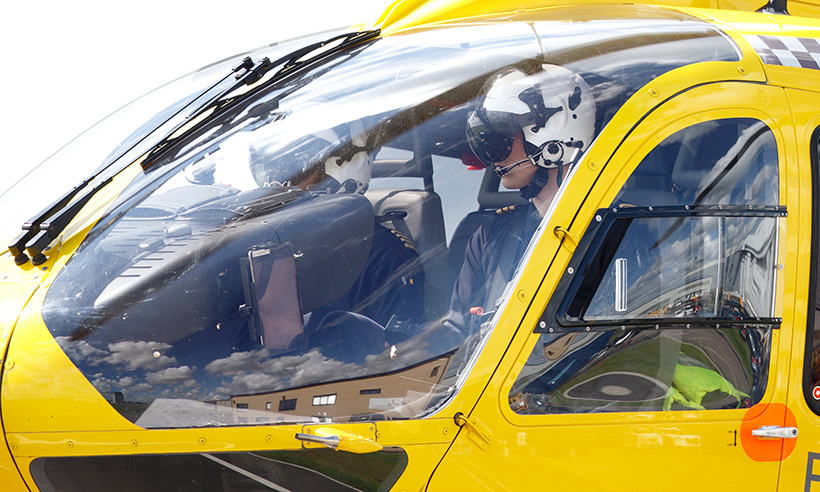 Prince William prepares for final shift as air ambulance pilot Photo (C) GETTY IMAGES