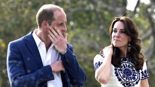 Prince William leaves Taj Mahal