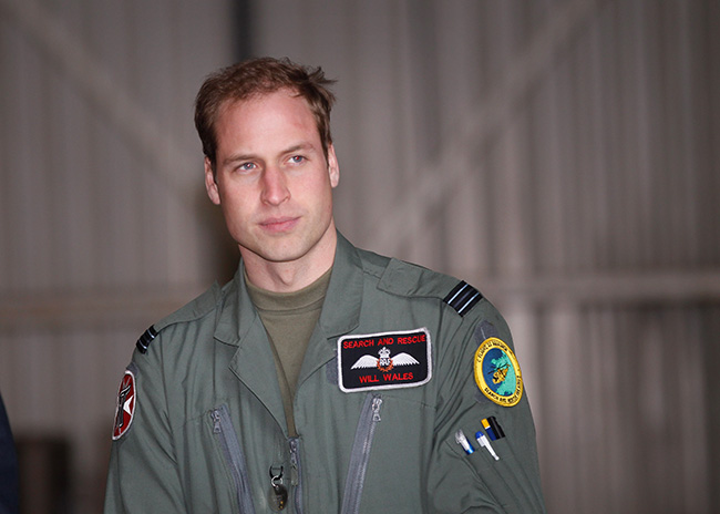 Prince William will complete his final shift as an air ambulance pilot on Thursday night Photo (C) GETTY IMAGES