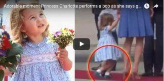 Princess Charlotte Curtsy