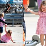 Princess Charlotte breaks down in tears after taking a tumble on royal tour Photo C GETTY IMAGES