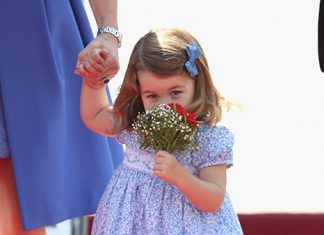 The Cambridges received a warm welcome when they arrived in Berlin Photo (C) GETTY IMAGES