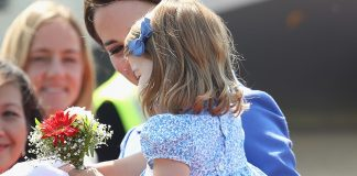 Princess Charlotte takes her royal duties seriously with first diplomatic handshake in Berlin Photo C GETTY IMAGES 1