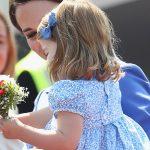 Princess Charlotte takes her royal duties seriously with first diplomatic handshake in Berlin Photo C GETTY IMAGES