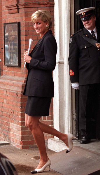 Princess Diana Fashion and Style Icon Photo (C) GETTY IMAGES