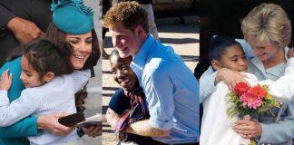 Princess Diana Hug Photo C GETTY IMAGES