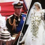 Princess Diana and Prince Charles showed warning signs of unhappiness on their wedding day Photo C GETTY IMAGES