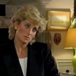 Princess Diana giving interview to Press Photo C GETTY IMAGES