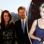 Princess Diana remembered Princes William and Harry and the Duchess of Cambridge attend service