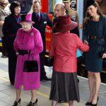 Queen Elizabeth and Duchess of Cambridge Image C Getty Images