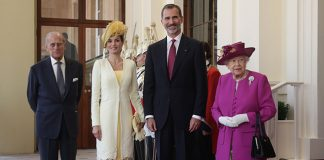 Queen Letizia and King Felipe have arrived in the UK for the start of their state visit Photo (C) GETTY IMAGES