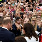 Rapturous welcome On their first official visit to Poland the couple were certainly made to feel at home