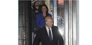 Sarah Ferguson and Prince Andrew headed out for dinner together on Monday night Photo C GETTY IMAGES 1