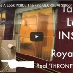 Take A Look INSIDE The King GEORGE Vl Saloon Carriage Also Used By Prince Philip 1