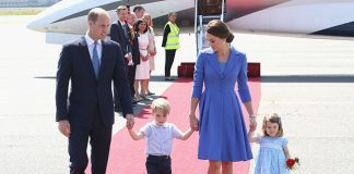The Cambridges recieved a warm welcome when they arrived in Berlin Photo C GETTY IMAGES 1