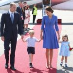 The Cambridges recieved a warm welcome when they arrived in Berlin Photo C GETTY IMAGES
