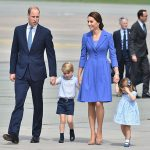 The Cambridges wave goodbye to Poland as they jet off to Berlin Photo C GETTY IMAGES