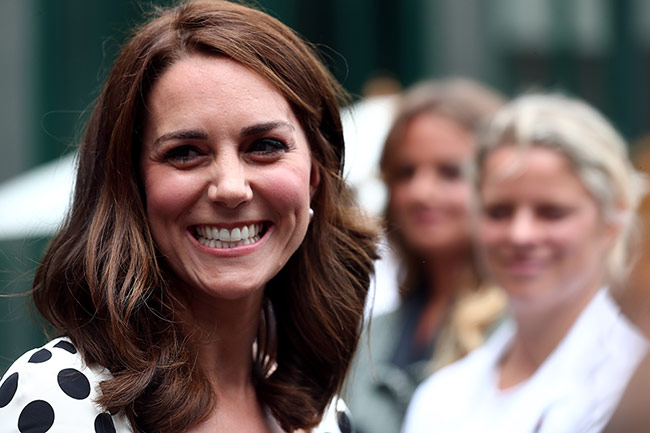 The Duchess appeared to have also dyed her hair Photo (C) GETTY IMAGES
