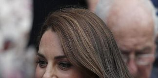 The Duchess is famed for her flowing brunette locks, but has switched things up with a shoulder-length 'lob'.