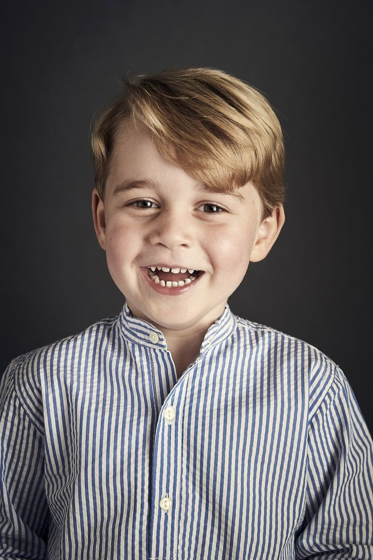 The Duke and Duchess are very pleased to share this lovely picture as they celebrate Prince George's fourth birthday Photo (C) INSTAGRAM KENSINGTON PALACE