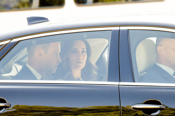 The Duke and Duchess of Cambridge visited the Stutthof concentration and death camp Photo (C) SWNS