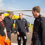 The Duke of Cambridge starts his final shift with the East Anglian Air Ambulance on July 27