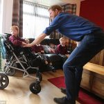 The Prince chats to Oliver who has profound and complex special needs due to his condition
