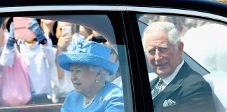 The Queen pictured on her way to the State Opening of Parliament Photo C GETTY IMAGES
