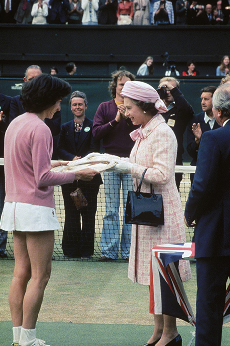 The long-standing tradition of centre court players bowing or curtseying to spectators in the royal box was discontinued in 2003 by the Duke of Kent, president of the club; the only exception is when the Queen or Prince Charles attends Photo (C) GETTY IMAGES