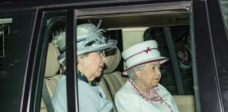 The Queen was pictured arriving at Crathie Church today marking her first Sunday of her annual break to Balmoral