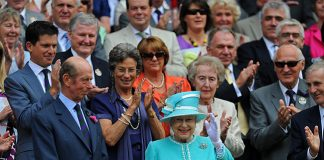 The Queen's visit to Wimbledon in 2010 was her first in 33 years Photo (C) GETTY IMAGES