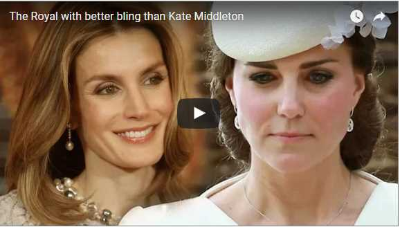 The Royal with better bling than Kate Middleton