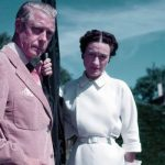 The Windsors pictured in Biarritz in 1951 rarely visited Britain after Edwards abdication Photo C GETTY IMAGES