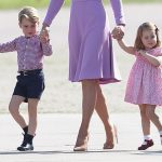 The adorable youngsters have been stealing the show throughout the royal tour Photo C GETTY IMAGES