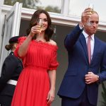 The couple make a toast to their hosts. Tomorrow the Duke and Duchess renew their friendly sporting rivalry that seems to play a part in most of their trips