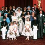 The official royal wedding party photo from 1981 but where are they now Photo C GETTY