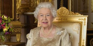 The portrait of the Queen released by Buckingham Palace to mark Canada Day