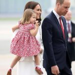 The royal wave While George may be feeling a little shy his younger sister is already a natural on official engagements