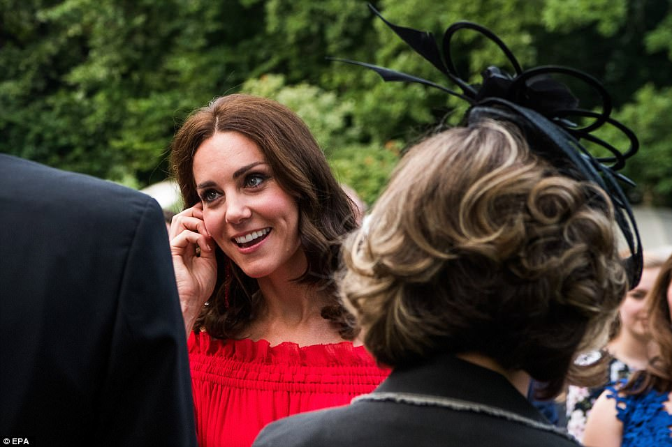 The royals' arrival in Berlin this morning marks the beginning of the German leg of their five-day tour, with a visit to the Brandenberg Gate and the Holocaust Memorial